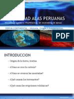 TECTONICA DE PLACAS, ORIGENES... ETC