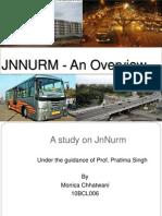 JNNURM - An Overview