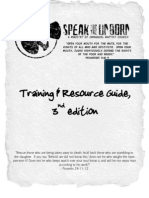 Speakfortheunborn Dot Com Training& Resource Guide (Militant Prolife Propaganda Manual)