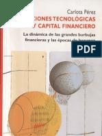 Revoluciones tecnológicas y capital financiero, Carlota Pérez