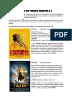 Cine de Verano 25-07-2012
