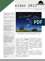 Perseidas 2012 + Lanzamiento Complejo Astronomico