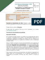 Talleres Semana 2 Modulo III Documentacion Sistema Calidad