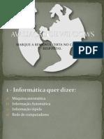 AVALIAÇÃO DE WINDOWS