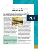 Keeping Laboratory Chemicals Safe and Secure