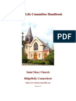 Respect Life Committee Handbook (prolife Propaganda Manual)