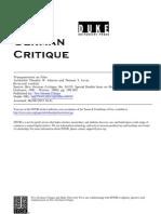 [Adorno] Transparencies on Film