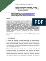Sistema de gestão integrado da qualidade