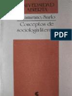 57499773 Conceptos de Sociologia Literaria Altamirano Carlos Amp Sarlo Beatriz
