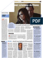5 Agosto Argentina Kirchner Chavez