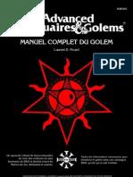 Manuel Complet Du Golem Dungeons and Dragons v2.2