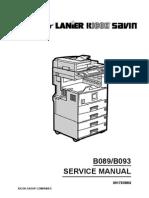 Manual, Service Dsm622 (B089)