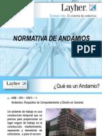 3. Normativa de Andamios