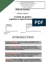 Controle de Gestion Logistique Et Approvisionnement