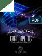 Grand Opening - Torrenova