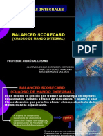 El Balanced Scorecard