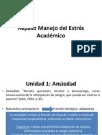 Repaso Manejo Del Estres Academico