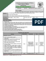 Plan y Programa de Eval Quimica III 1p 2012-2013