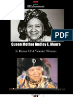Queen Mother Audley E Moore in Honor of a Warrior Woman