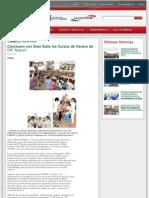 06-08-2012 Concluyen con Gran Éxito los Cursos de Verano de DIF Nayarit