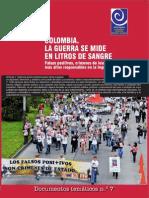 CCEEU y FIDH - Falsos Positivos, En Colombia La Guerra Se Mide en Litros de Sangre
