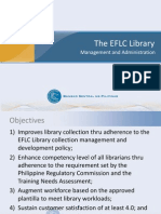 The EFLC Library