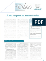 A Tira Reagente No Exame de Urina1