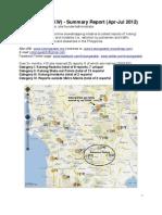 KotongWatch Report Apr-Jul 2012
