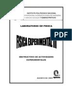 Upiicsa Manual Fisica Experimental III