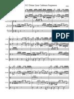 Latin - 2012 Drum Line Cadence (full score)