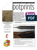 August 2012 Footprints