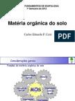 Materia Organica Do Solo-2012_CERRI