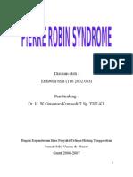 7109386 Pierre Robin Syndrome Erliswita Reza
