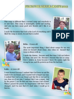 Testimonies From Wol Serbia Camps 2012