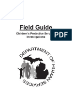 MI Department of Human Services, Field Guide-Children's Protective Services