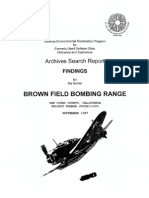 Brown Field Bombing Range