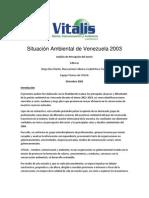 Situación Ambiental de Venezuela 2003