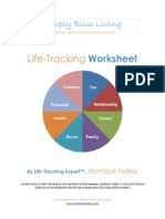 Simply Bliss Living-Life Tracking Worksheet