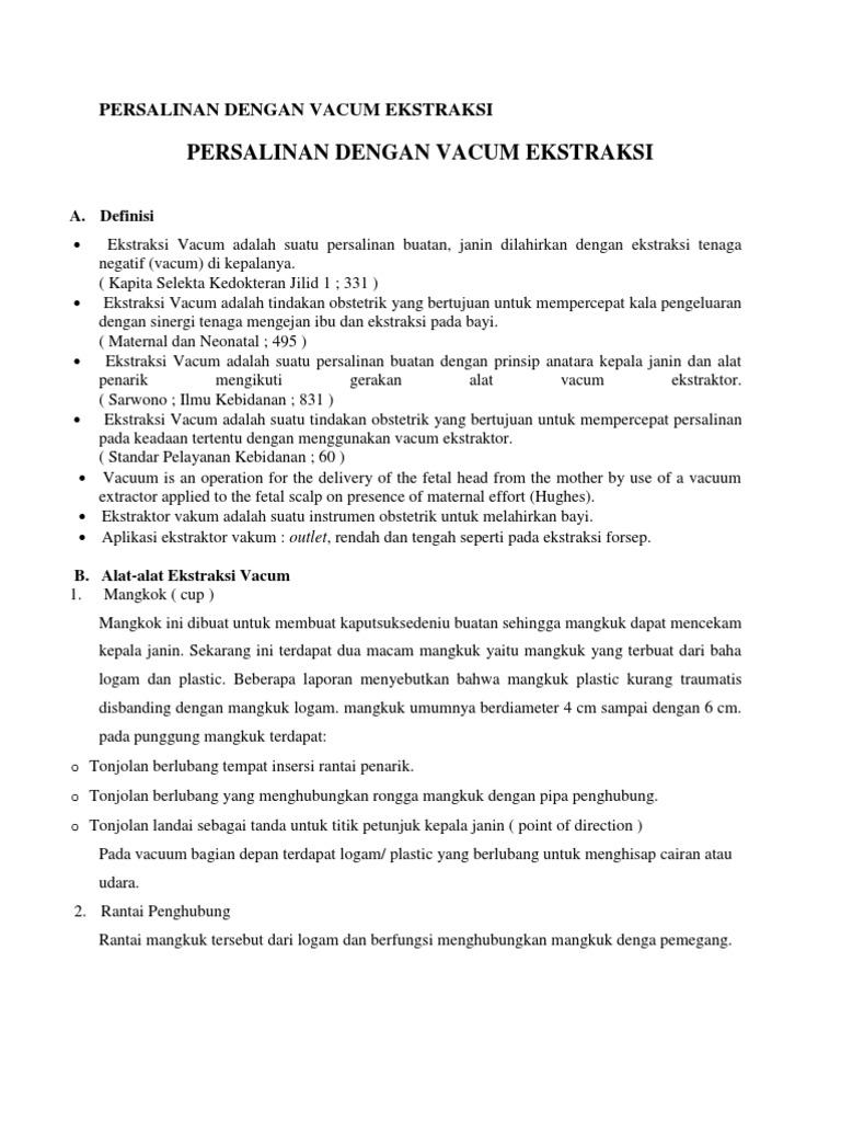 Persalinan dengan vakum ekstraksi pdf reader