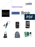 Rewards Catalogue 27th Mar12