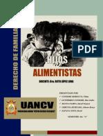 Derecho de Familia - Hijos Alimentistas (Max Gutierrez Condori)
