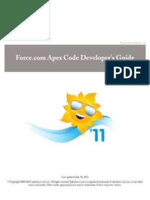 Apex   Salesforce Com   Class (Computer Programming)