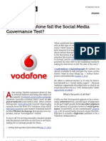 How Did Vodafone Fail the Social Media Governance Test?