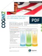Life Sciences Implications of the U.S. Affordable Care Act