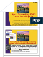 JSON Generation