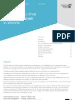 Criminal Justice Diversion Program (Vic) 2008 Statistical Profile - Incl. Traffic