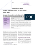 Airway Clearance Devices in Cystic Fibrosis