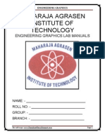 Engineering Graphics Lab Manual