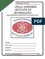 Engineering Graphics Lab Manual