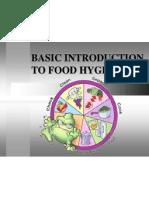 Basic Introduction to Food Hygiene.